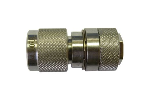 Gauge coupling female nato turning / female 1/4 gaz